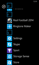 Nokia Lumia 635 - Applications - Setting up the application store - Step 3