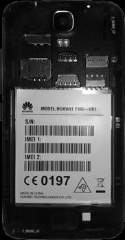 Huawei Y3 - SIM-Karte - Einlegen - 3 / 11