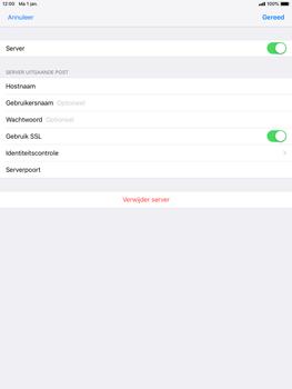 Apple iPad Mini 4 - iOS 12 - E-mail - e-mail instellen: POP3 - Stap 18