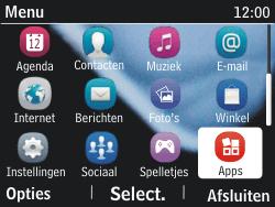 Nokia Asha 201 - bluetooth - aanzetten - stap 3