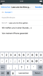 Apple iPhone 6s - E-Mail - E-Mail versenden - 1 / 1