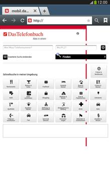 Samsung Galaxy Tab 3 8-0 LTE - Internet und Datenroaming - Verwenden des Internets - Schritt 12