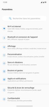 OnePlus 7T Pro - Internet et connexion - Désactiver la connexion Internet - Étape 4
