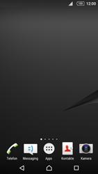 Sony Xperia Z5 Compact - Startanleitung - Installieren von Widgets und Apps auf der Startseite - Schritt 3