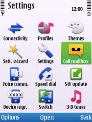 Nokia C5-00 - Voicemail - Manual configuration - Step 4