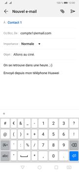 Huawei P30 - E-mails - Envoyer un e-mail - Étape 10
