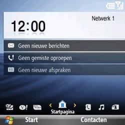 Samsung B7330 Omnia Pro - netwerk en bereik - gebruik in binnen- en buitenland - stap 12