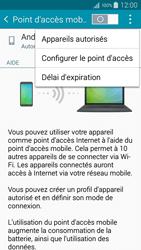 Samsung Galaxy A5 (A500FU) - Internet et connexion - Partager votre connexion en Wi-Fi - Étape 7