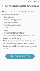 Samsung Galaxy A3 (2017) - Fehlerbehebung - Handy zurücksetzen - 9 / 12
