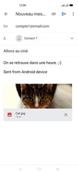 Oppo Reno 4 - E-mails - Envoyer un e-mail - Étape 15
