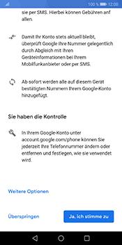 Huawei Mate 10 Pro - Android Pie - Apps - Einrichten des App Stores - Schritt 13