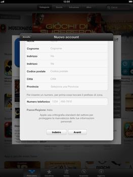 Apple iPad mini - Applicazioni - Configurazione del negozio applicazioni - Fase 22