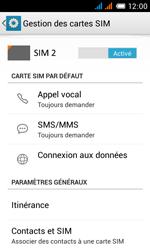 Alcatel One Touch Pop C3 - Internet et roaming de données - Désactivation du roaming de données - Étape 5