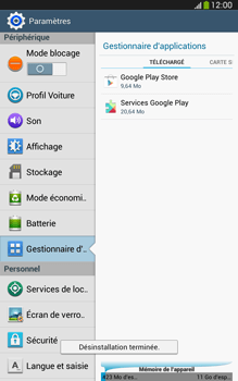 Samsung Galaxy Tab 3 8-0 LTE - Applications - Comment désinstaller une application - Étape 8