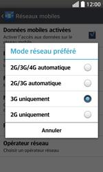LG F70 - Internet et connexion - Activer la 4G - Étape 7