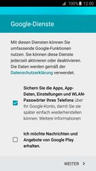 Samsung G920F Galaxy S6 - Apps - Konto anlegen und einrichten - Schritt 14