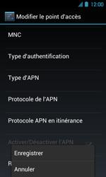 Acer Liquid Glow E330 - MMS - Configuration manuelle - Étape 13