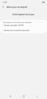 Samsung Galaxy Note 10+ - Aller plus loin - Mettre à jour le logiciel interne de votre mobile - Étape 8