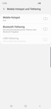 Samsung Galaxy S10 - WiFi - So aktivieren Sie einen WLAN-Hotspot - Schritt 6