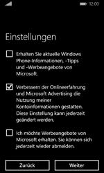 Microsoft Lumia 435 - Apps - Konto anlegen und einrichten - 19 / 25