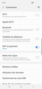 Samsung Galaxy S10 - Internet et connexion - Désactiver la connexion Internet - Étape 5