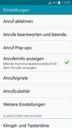 Samsung Galaxy A5 - Anrufe - Rufumleitungen setzen und löschen - 6 / 12