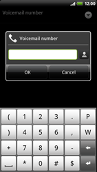HTC Z715e Sensation XE - Voicemail - Manual configuration - Step 7