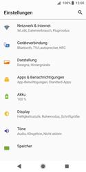 Sony Xperia XZ2 Compact - WLAN - Manuelle Konfiguration - Schritt 4