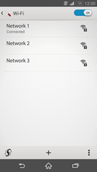 Sony Xperia Z3 - WiFi - WiFi configuration - Step 8