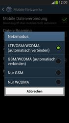 Samsung I9505 Galaxy S4 LTE - Netzwerk - Netzwerkeinstellungen ändern - Schritt 7