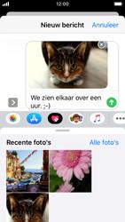 Apple iPhone SE - iOS 13 - MMS - afbeeldingen verzenden - Stap 14