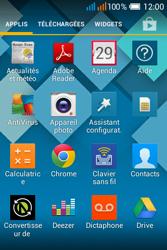 Alcatel OT-4015X Pop C1 - Photos, vidéos, musique - Prendre une photo - Étape 3