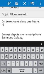 Samsung Galaxy Trend 2 Lite - E-mails - Envoyer un e-mail - Étape 10