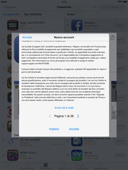 Apple iPad Air - iOS 8 - Applicazioni - Configurazione del negozio applicazioni - Fase 10