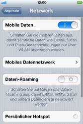 Apple iPhone 3GS - Ausland - Im Ausland surfen – Datenroaming - Schritt 7
