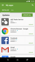 HTC One M9 - Applications - How to check for app-updates - Step 6