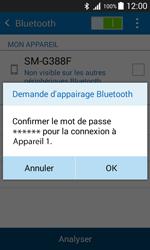 Samsung G388F Galaxy Xcover 3 - Bluetooth - jumelage d