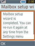 Samsung B2100 Xplorer - E-mail - Manual configuration - Step 16