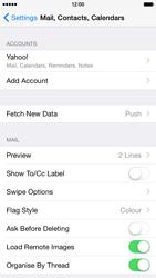 Apple iPhone 6 - E-mail - Manual configuration (yahoo) - Step 10