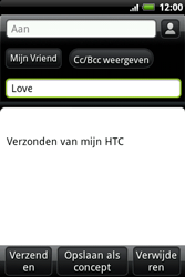 HTC A510e Wildfire S - E-mail - hoe te versturen - Stap 7