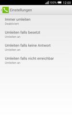 Alcatel Pop S3 - Anrufe - Rufumleitungen setzen und löschen - 0 / 0