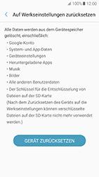 Samsung Galaxy A5 (2017) - Gerät - Zurücksetzen auf die Werkseinstellungen - Schritt 7