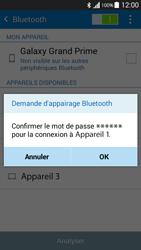 Samsung G530FZ Galaxy Grand Prime - Bluetooth - connexion Bluetooth - Étape 9
