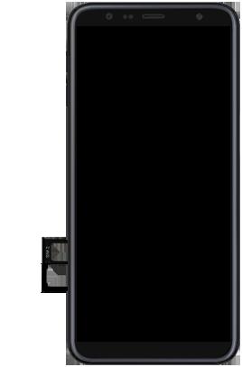 Samsung Galaxy J6 Plus - Appareil - comment insérer une carte SIM - Étape 7