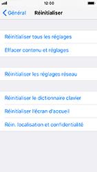 Apple iPhone 5s - iOS 12 - Appareil - Réinitialisation de la configuration d