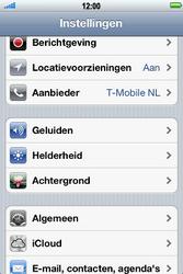 Apple iPhone 4S met iOS 5 (Model A1387) - Probleem oplossen - Toestel resetten - Stap 3