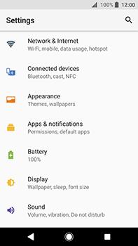 Sony Xperia XA2 Ultra - Internet - Disable mobile data - Step 4