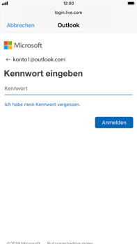 Apple iPhone 6s Plus - iOS 13 - E-Mail - Konto einrichten (outlook) - Schritt 7