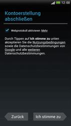 HTC One S - Apps - Einrichten des App Stores - Schritt 12
