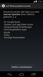 LG D821 Google Nexus 5 - Fehlerbehebung - Handy zurücksetzen - Schritt 8